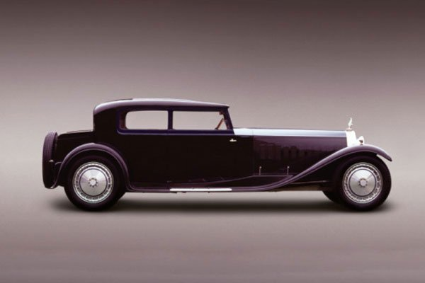 Bugatti Type 41 Royale Kellner Coupe 1931 года