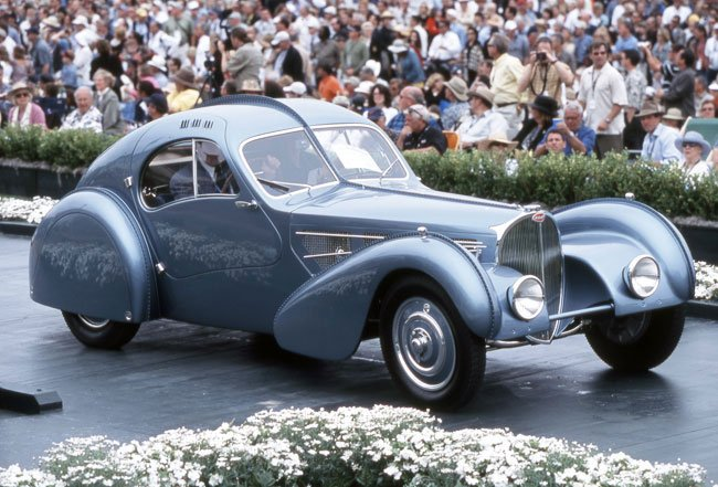 Bugatti Type 57SC Atlantic 1936 года