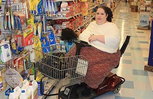 Самая толстая женщина