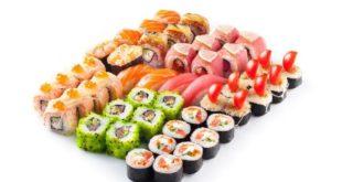 Блюда японской кухни с доставкой на дом